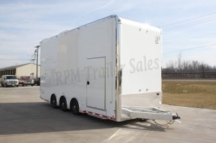 24' Custom inTech Aluminum Stacker Trailer