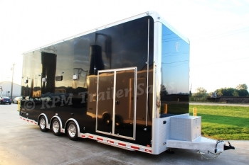 28' Custom inTech Aluminum Stacker Trailer