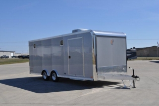 22' Aluminum Enclosed inTech Show Car Trailer