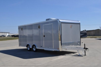 22' Aluminum Enclosed inTech Show Car Trailer