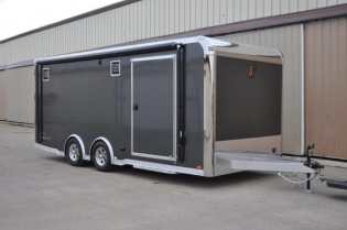 20' inTech Aluminum Loaded Race Car Trailer