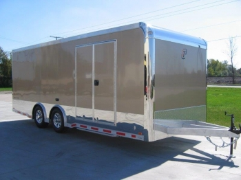 22' Custom inTech Aluminum Trailer