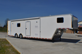 38' inTech Living Quarters Gooseneck Trailer