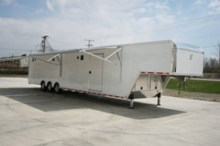 48' inTech Gooseneck Race Car Trailer
