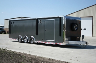 30' inTech Custom Aluminum Trailer
