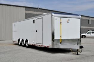 32' inTech Custom Aluminum Trailer