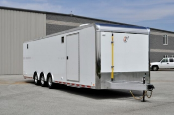 32' inTech Custom Aluminum Trailer