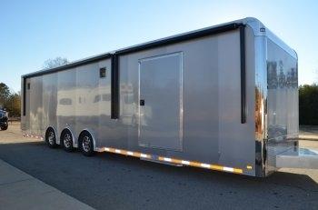 34' inTech Trailers Custom Aluminum Race Car Trailer