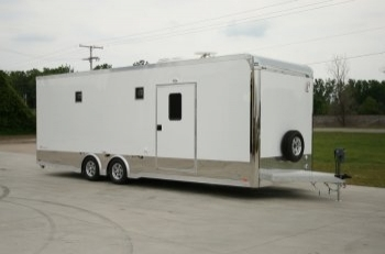 26' inTech Race Trailer with Bathroom Package