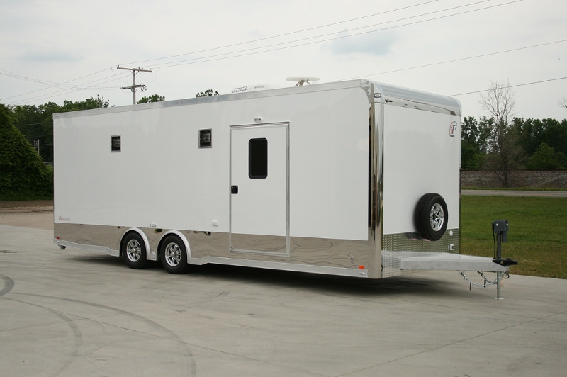 26  39  inTech Race Trailer with Bathroom Package. 26  39  inTech Race Car Trailer with Bathroom Package   RPM Trailer Sales