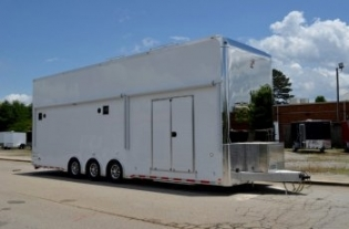 32' Aluminum inTech Stacker Trailer