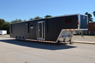 48' Custom inTech Living Quarters Trailer