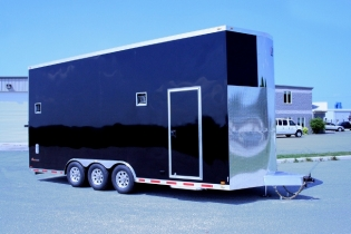 24' V-Nose Aluminum inTech Stacker Trailer