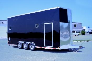 24' V-Nose Aluminum inTech Stacker Trailer