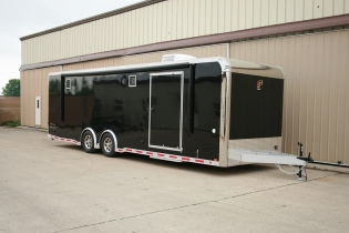 28' Custom inTech Aluminum Trailer
