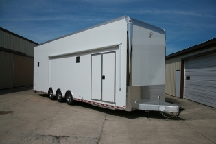 32' Custom inTech Stacker Trailer