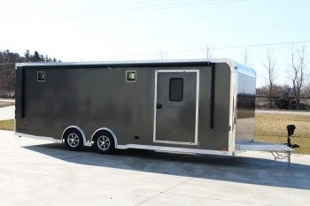 24' Custom inTech Aluminum Race Trailer