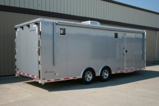 24' inTech Aluminum Race Car Trailer