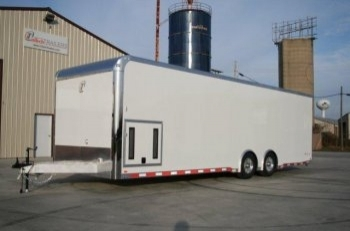 28' inTech Aluminum Trailer with iCon Package