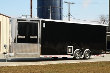 30' inTech Custom Snowmobile Trailer