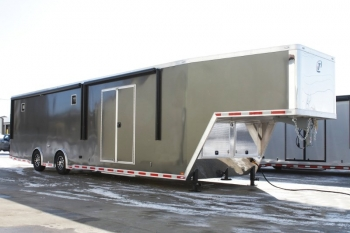 42' Aluminum Gooseneck Car Trailer