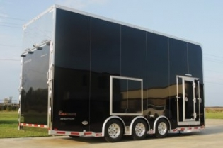 24' Custom Aluminum Stacker Trailer