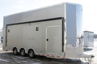 28' inTech Aluminum Stacker Trailer