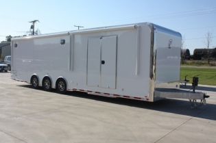 32' Aluminum Race Car Hauler