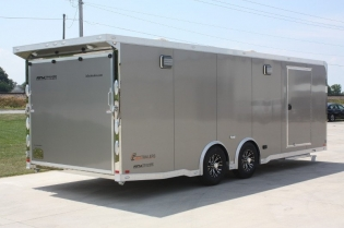 24' inTech Aluminum Race Car Hauler