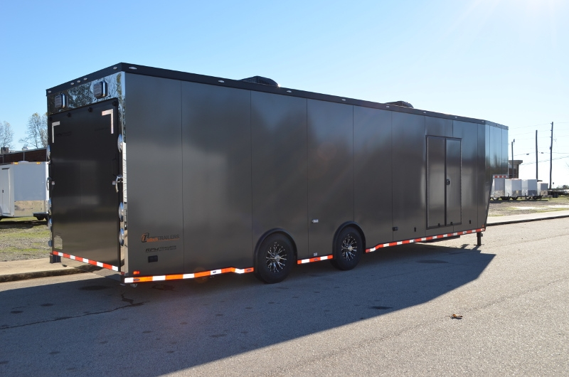 40 Intech Aluminum Race Car Trailer Custom Race Car