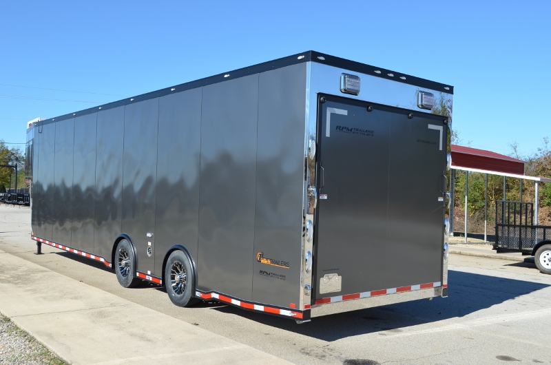 Aluminum Enclosed Trailers For Sale >> 40' inTech Aluminum Race Car Trailer | Custom Race Car Haulers for Sale | RPM Trailer Sales