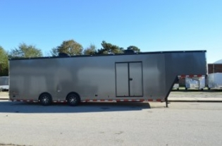 40' Aluminum Gooseneck Race Car Trailer