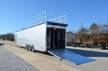 48' inTech Aluminum Gooseneck Race Car Trailer