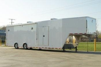 40' inTech Aluminum Gooseneck Trailer