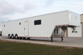 48' inTech Aluminum Race Car Trailer with Lounge