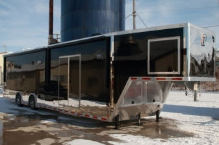 42' Custom inTech Gooseneck Trailer