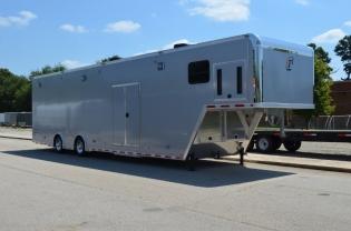 42' Aluminum Gooseneck Race Trailer