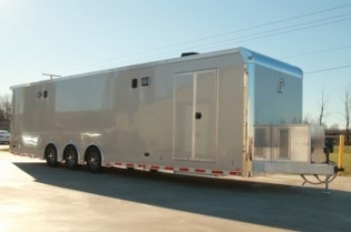 34' Custom inTech Aluminum Race Trailer