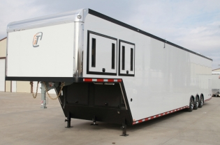 48' inTech Aluminum Race Car Trailer