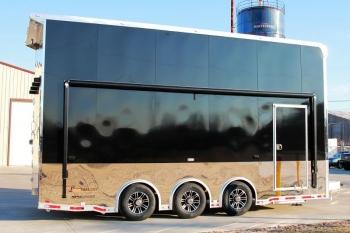 22' Custom inTech Aluminum Stacker Trailer