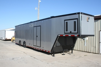 42' Custom inTech Aluminum Trailer