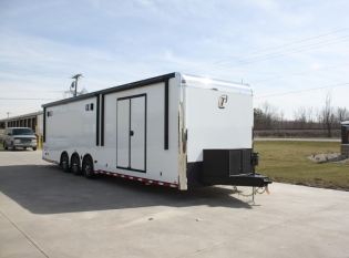 34' Custom inTech Aluminum Trailer