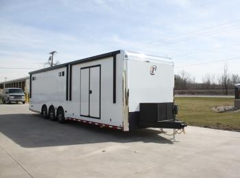 34' Custom inTech Aluminum Trailer