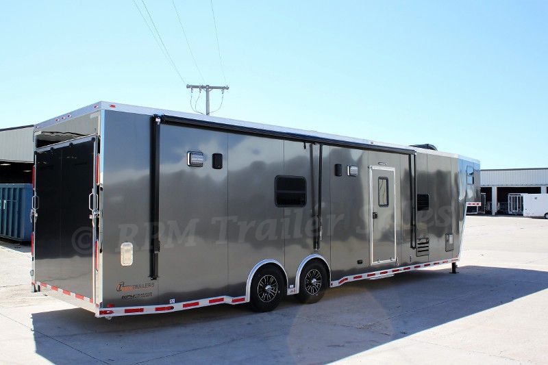 Featherlite Car Trailer With Living Quarters For Sale