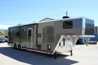 40' inTech Aluminum Race Car Trailer with Bathroom Package
