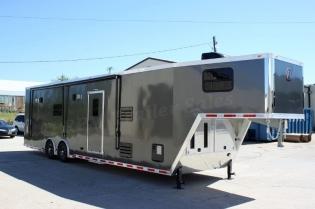 40' inTech Aluminum Race Car Trailer with Bathroom Package