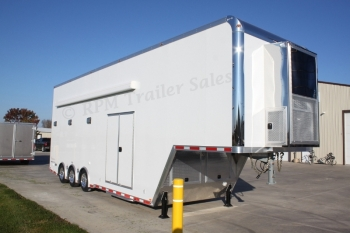 36' Custom inTech Aluminum Stacker Trailer
