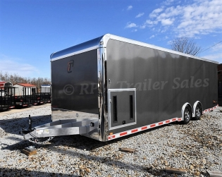 28' inTech Aluminum iCon Package Trailer