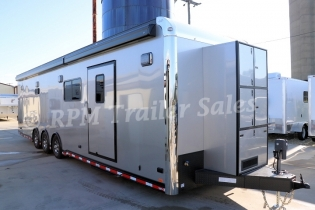 34' inTech Aluminum Race Trailer with Bathroom Package